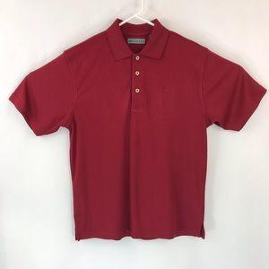 Cubavera Mens Polo Golf Shirt Medium